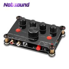 Little Bear P14 Mini Ultra Compact 4 Channel Stereo Headphone Amp Studiophile Amplifier Black & Red
