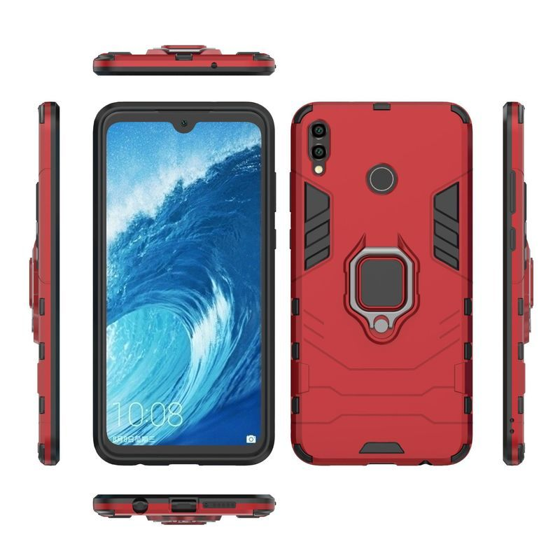 HuaWei Honor 8X Max Case Anti-fall Stand Back Cover For HuaWei Honor 8X 6X 8X Max View 10 Lite Shockproof Dust-proof Hard Cover
