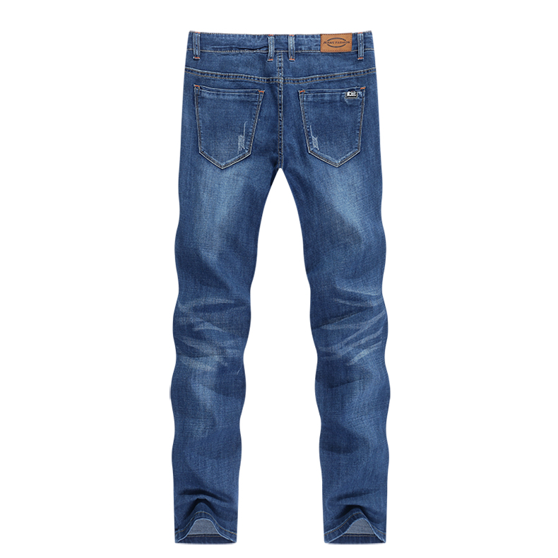 KSTUN Jeans Men Summer 2020 Blue Slim Straight Denim Pants Casual Fashion Men's Trousers Full Length Cowboys Male Jeans Hombre 12