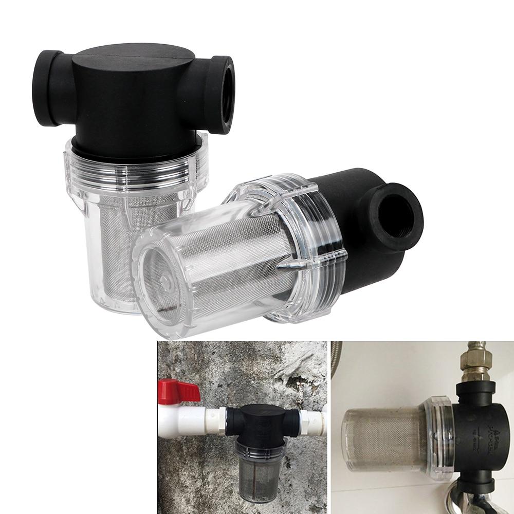 NICEYARD 1Pcs Garden Interface Strainer Irrigation High Flow Water Pump Filter  Inline Mesh Strainer Universal Pipeline Filter|Garden Water Connectors| |  - title=