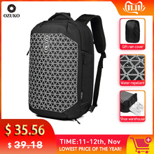 OZUKO New Anti-thief Men Backpack Multifunctional 15.6