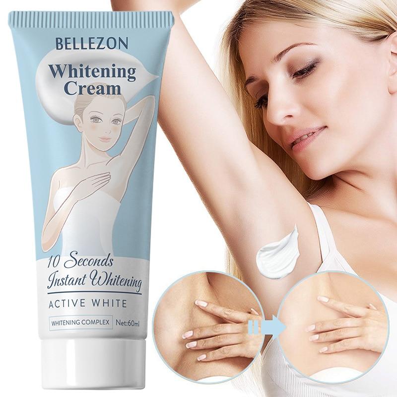 Crema sbiancante per ascelle Bellezon crema idratante nutriente rimuovi l'odore crema sbiancante per la riparazione delle ascelle privata liscia 1