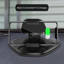 Support de téléphone portable en cuir pour voiture, nouveau modèle 2019, Navigation GPS, Support Hud, tableau de bord universel pour iPhone X