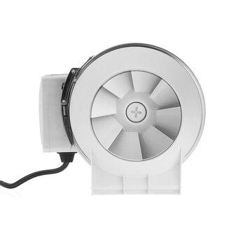 Flusso Misto Inline Condotto Fan Di Richiamo Turbine Aria Ventilatore Idroponica Sistema Di Ventilazione Di Aria Bagno Wc Cucina Estrattore Ventilatore