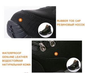 Image 2 - TNTN Botas de senderismo impermeables para hombre y mujer, zapatos de senderismo transpirables, botas de montaña
