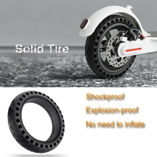 8.5 Inch Solid Hole Tires for Xiaomi M365 Electric Scooter Non-Pneumatic Tyre Damping Rubber Explosion-Proof Tyres Wheel