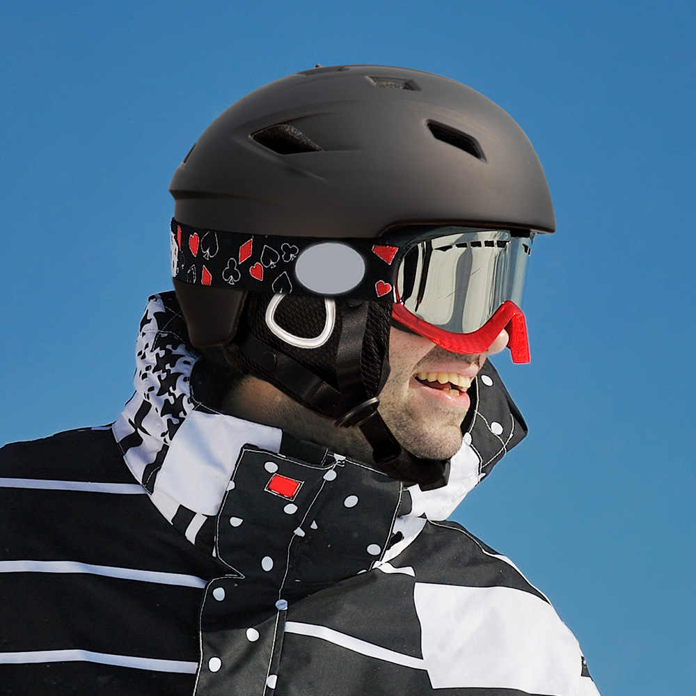 Casco de esquí ligero COPOZZ 2019 con certificado de seguridad casco de Snowboard moldeado integralmente ciclismo esquí nieve hombres mujeres niños