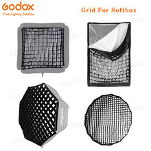 Octogonal/Rectangle Grille Nid D'abeille pour 40x40 50x50 60x60 80x80 50x70 60x90 80 95 120cm P90L P90H P120L P120H Parapluie Softbox(China)