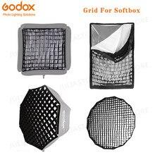 Octogonal/retangular grade de favo de mel para 40x40 50x50 60x60 80x80 50x70 60x90 80 95 120cm p90l p90h p120l p120h guarda-chuva softbox
