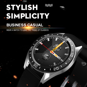 "Image 4 - Lerbyee GT105 フィットネストラッカー 1.22 ""心拍数モニター血圧スマートブレスレット男性女性天気スマート腕時計ホット販売 2019"