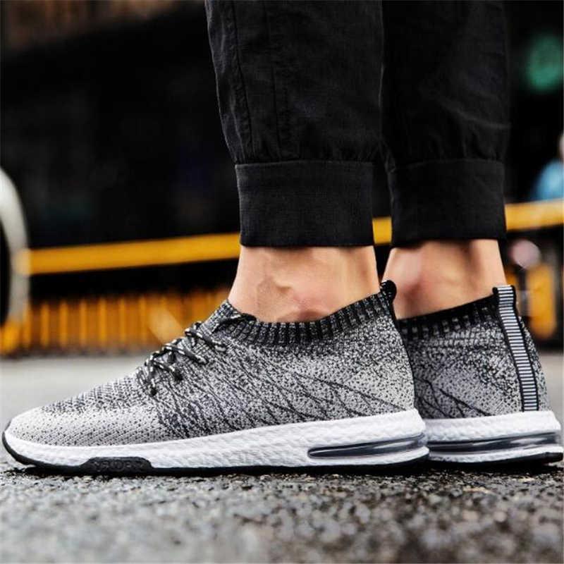 Heren Schoenen Flats mannen Schoenen Sneakers Man Ademend Tenis Schoenen Mannen Rubber Mannen Casual Schoenen Merk Man Fashion Footwear