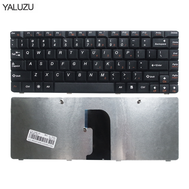YALUZU US Laptop Keyboard For LENOVO G460 G460A G460E G460AL G460EX G465 Black New English Keyboards