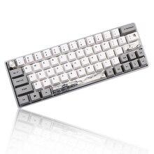 Ensemble de Keycap submergé OEM 60% PBT pour teinture, avec clavier mécanique, pour GH60 RK61/ALT61/Annie /poker (GK61/GK64 dz60)