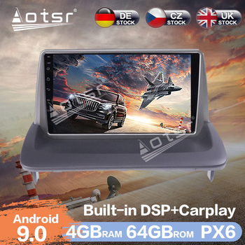 Aotsr Android 9.0 RAM 4G Car Radio Player GPS Navigation DSP Car Auto Stereo Video HD Multimedia For VOLVO C30 S40 C70 2006-2012 image
