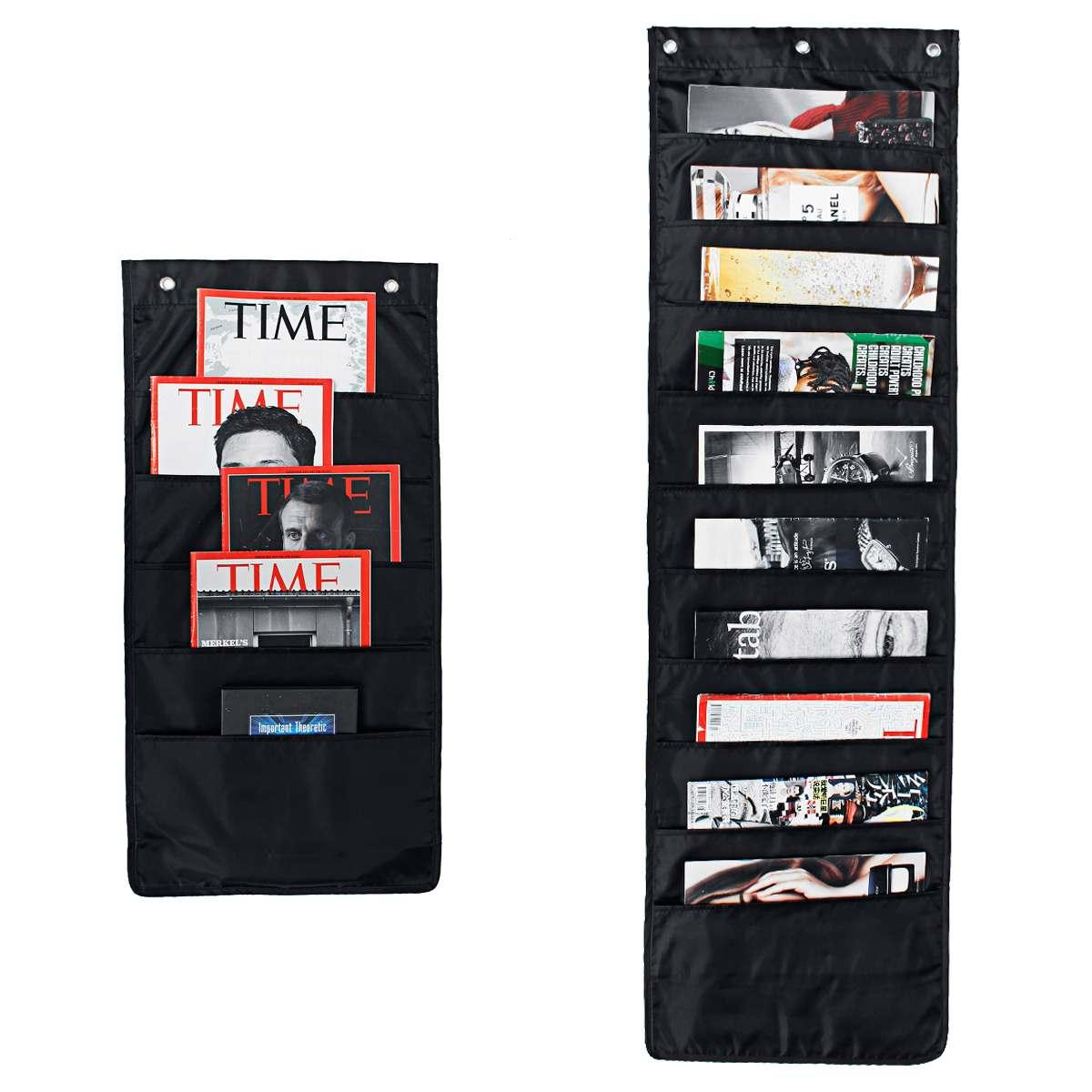 11 Pocket Wall Hanging File Folder Organizer Magazine Organizer Colgante Wall Organizer Office Hanging Pocket Organizer