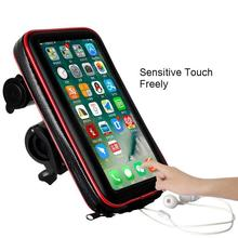 Bicycle Bag Waterproof Front Bike Cycling 6.5 inch Mobile Phone touchscreen Bags Mountain bag for iPhone 11