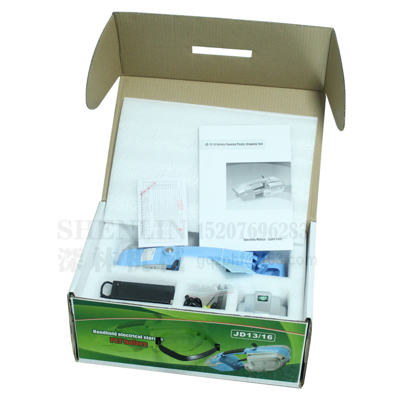 Batterij omsnoeringsapparaten draagbare PP PET omsnoeringsmachine - Gereedschapssets - Foto 5
