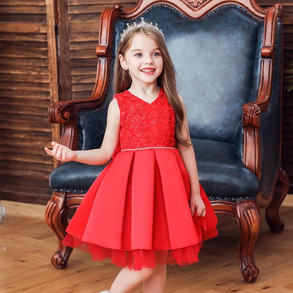 CHILDREN'S Full Dress Women's Infant Baby Flower Boys/Flower Girls Wedding Dress Princess Veil Tutu Baby Dress