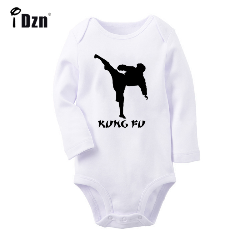 Skateboard Skater Printed Newborn Infant Baby Boy Girl One-Piece Suit Long Sleeve Rompers Black