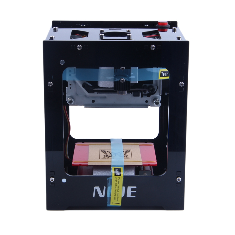 DK-BL 405nm 1500mW DIY Engraver Printer Laser-Engraving Machine Bluetooth USB