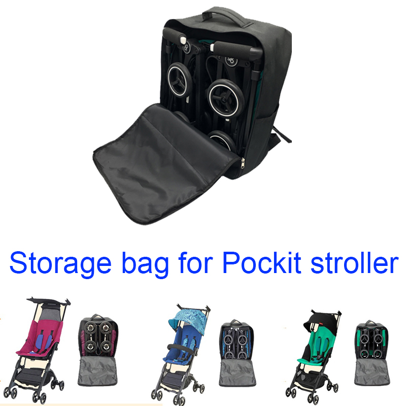 Stroller Accessories Storage Bag 1:1 Goodbaby POCKIT Pram Travel Bag Backpack For GB POCKIT 2019 POCKIT PLUS  Knapsack