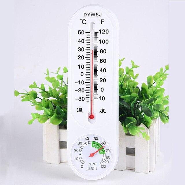 Junejour LCD cyfrowy miernik temperatury i wilgotności Home Indoor Outdoor higrometr termometr stacja pogodowa z zegarem