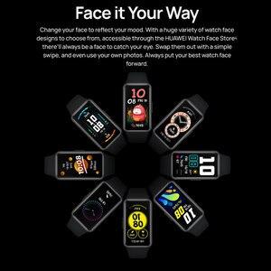 Image 4 - 100% Original Huawei Band 6 Wristbands Blood Oxygen Heart Rate Tracker 1.47 inch AMOLED Smartband