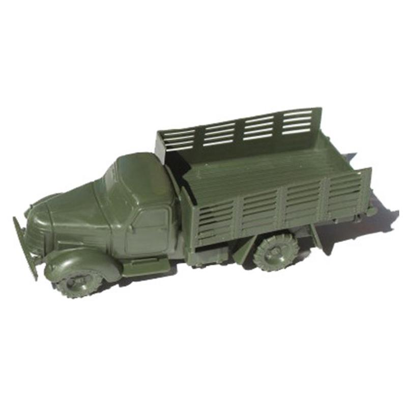 Army Green Dongfeng Truck Military Psychological Sand Table Static Model Plastic Toy Car Suitable For Boys And Girls