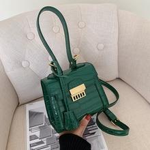 YANIGELAN Luxury Designer Small Handbag PU Leather Mini Square Bags For Women Vintage Female Crossbody Pack 2021 Petit Sac Retro