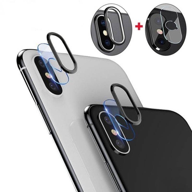 Anti-Scratch Camera Lens Protector For iPhone XR X XS MAX 8 7 6s Plus 1