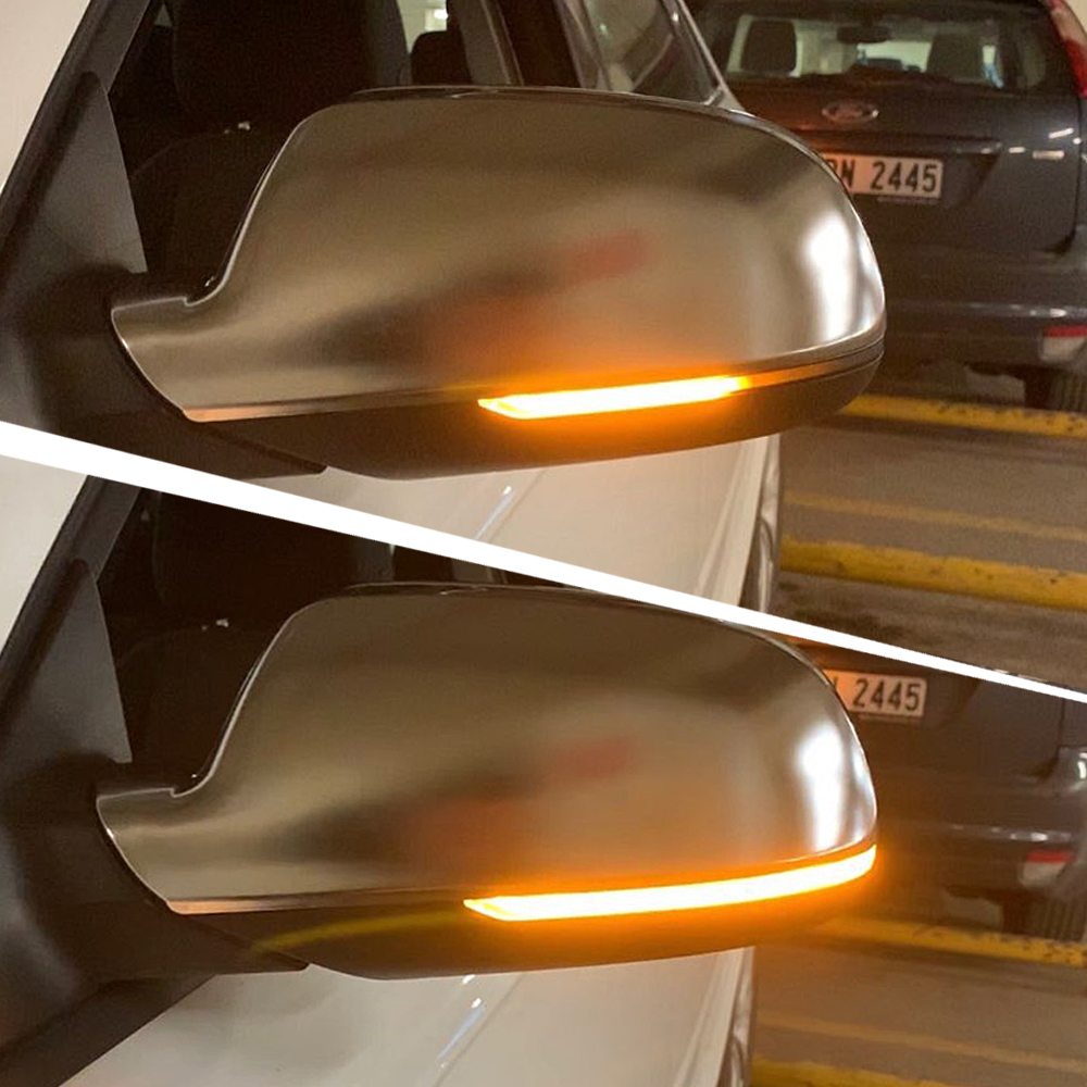 For <font><b>Audi</b></font> A3 8P A4 A5 B8 B8.5 Q3 A6 C6 4F S5 S6 Dynamic Blinker Mirror Light <font><b>LED</b></font> Turn Signal Side Indicator SQ3 <font><b>A8</b></font> <font><b>D3</b></font> 8K RS3 RS5 image