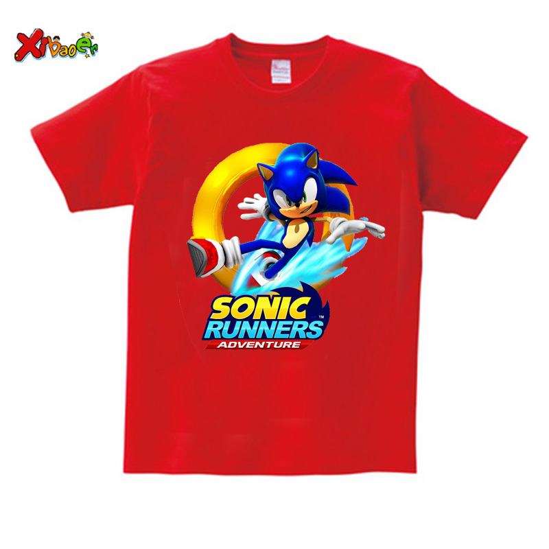 Children T Shirt Sonic The Hedgehog Clothing Cartoon T Shirt Fashion Costume Baby Boys Shirts Toddler Girls 2020 Summer New Top T Shirts Aliexpress