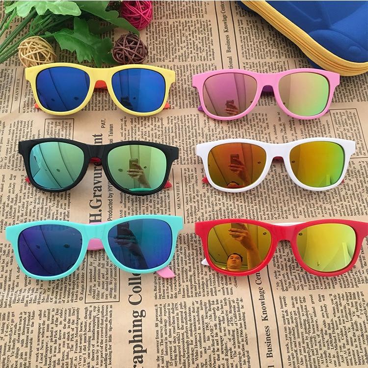 2020 Kids Sunglasses Black Brand Designer Children's Sunglasses Anti-uv Baby Stylish Eyeglasses Girl Boy Glasses UV400