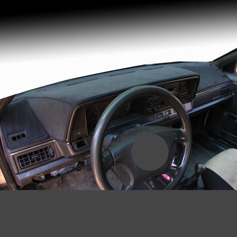 Samochód Dashmats akcesoria do stylizacji samochodów pokrywa deski rozdzielczej dywan dla volkswagena VW Passat B2 Santana Quantum 1990 1991 1992 1993 1997