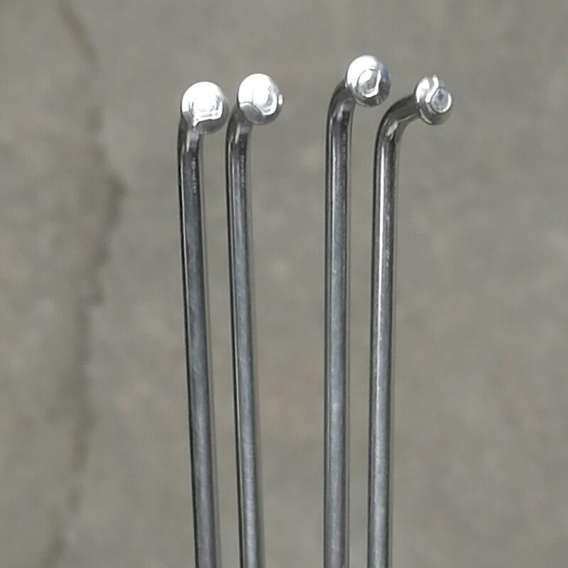 Electric Bicycle 10G Diameter3.0mm Length 97-200mm Spokes Nipples 37pcs//lot