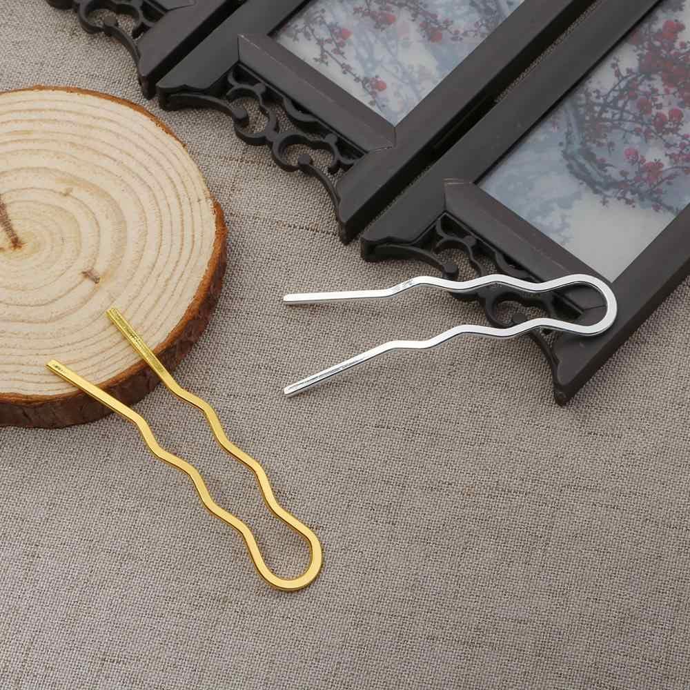 DIY accesorios para el cabello de la boda Tiara peines para el pelo de los dientes de la novia pinza para el pelo Barrette horquilla Base en blanco para la fabricación de joyas