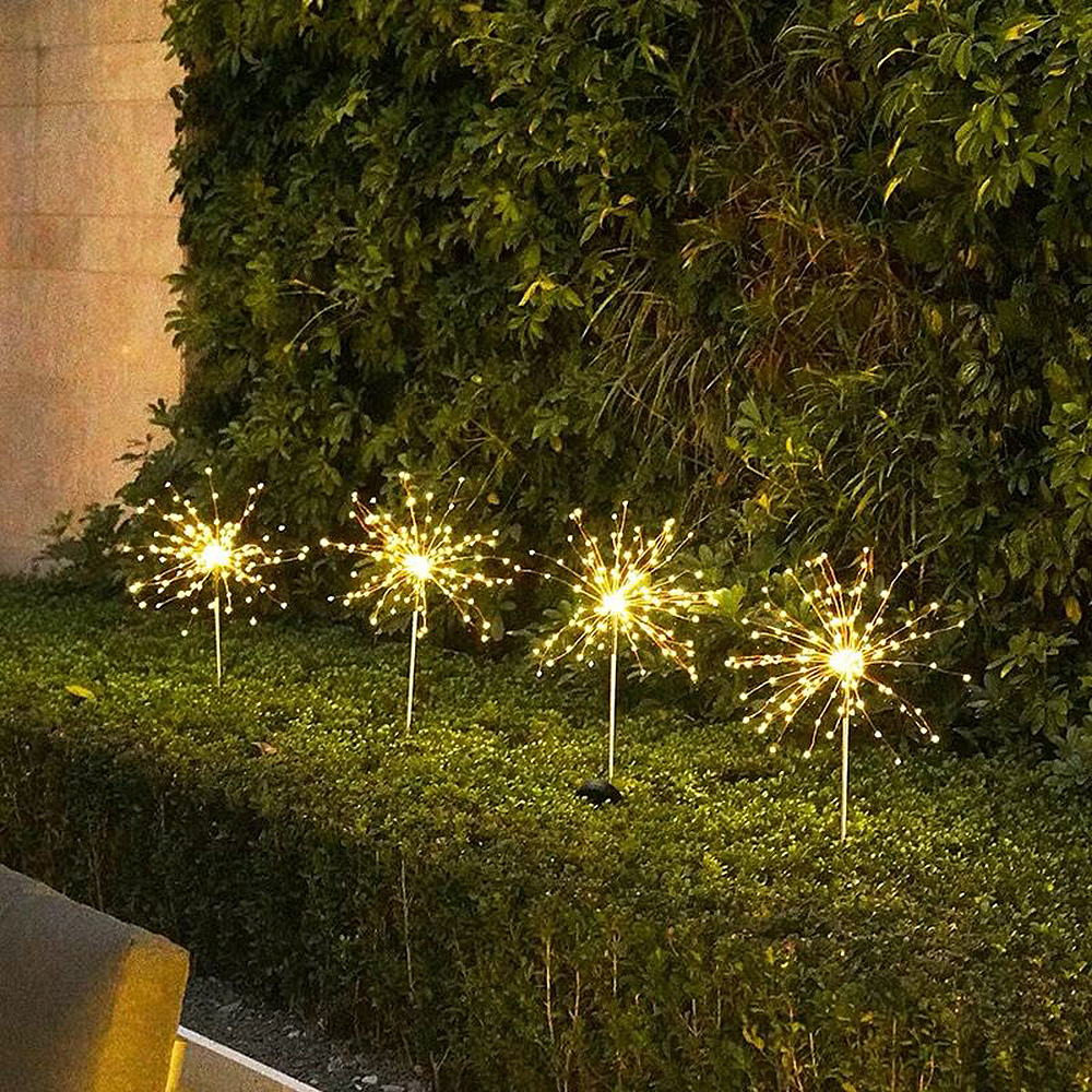 Solar Firework Lights