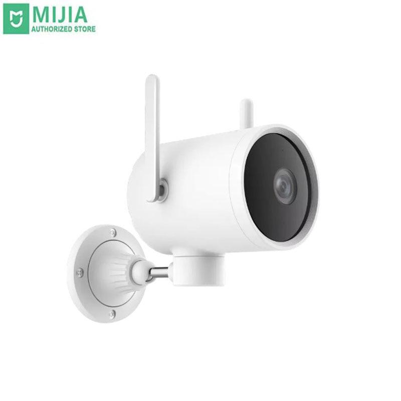 Stock Xiaomi Xiaobai Smart Camera 1080P WiFi Remote Control HD Night Vision Outdoor Waterproof Home Parking Monitor Mihome APP