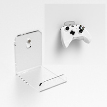 Hanger Gamepad-Holder Headset-Stand Wall-Mounted for PS4 Xbox Space-Saving Acrylic Universal