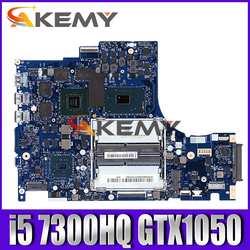 DY512 NM-B191 is suitable for Lenovo Y520-15IKBN notebook motherboard 5B20N00291 CPU <font><b>i5</b></font> <font><b>7300HQ</b></font> GTX1050 DDR4 100% test work image