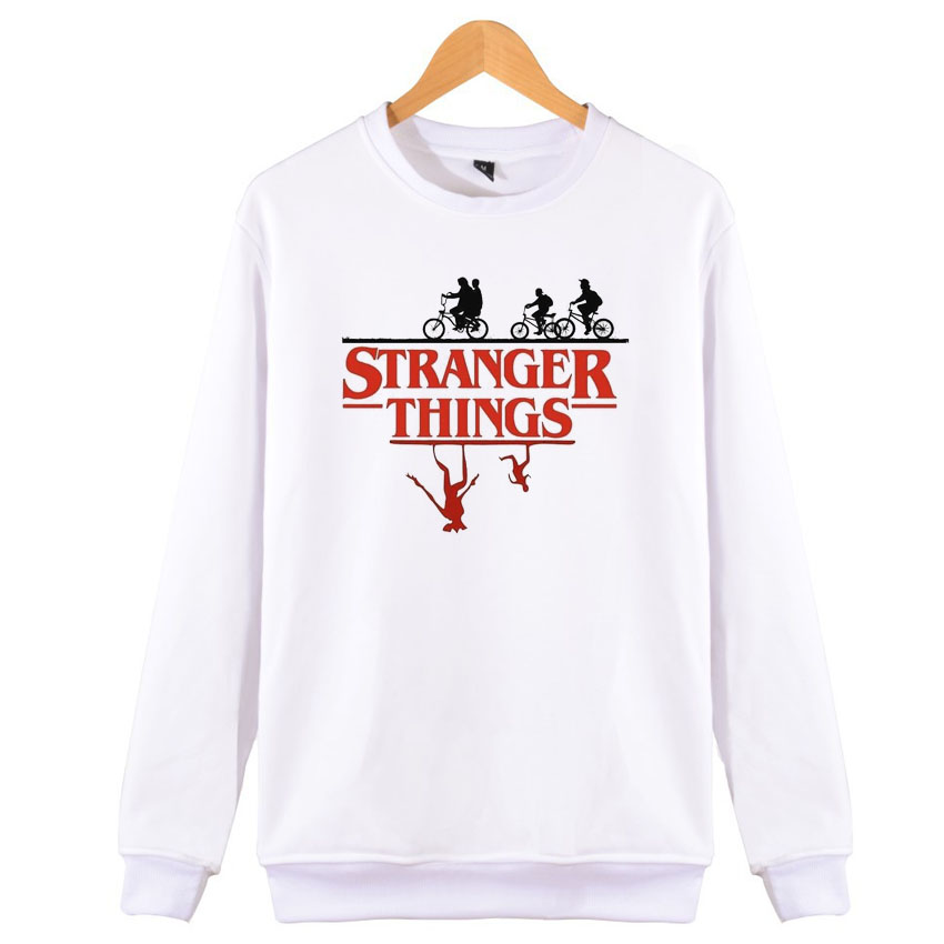 2019 Autumn Stranger Things Hoodie Women Hoodies Sweatshirts Oversize For Winter Outfits Ladies Thicken Hooded Tops