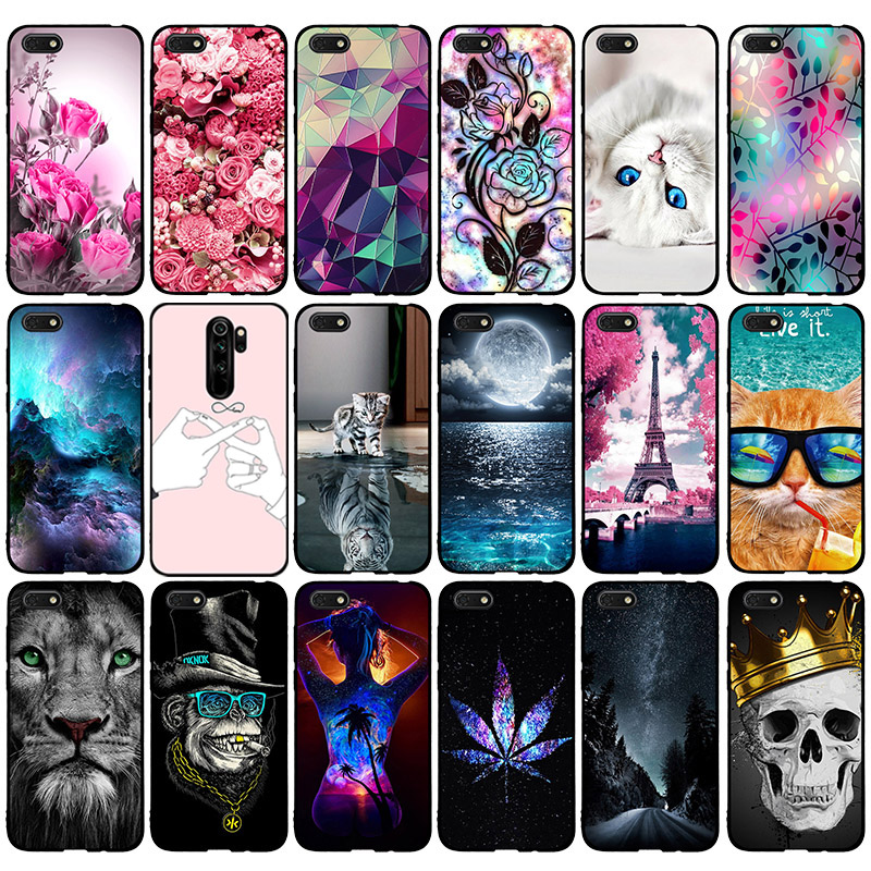 For Huawei Honor 7A Case Cover 5.45 inch Soft Silicone Thin TPU Back Cover For Fundas Huawei Honor7A Russian Version Phone Cases