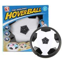 1 шт. Забавный светодиодный свет мигающий воздушный мощный футбольный мяч диск комнатная футбольная игрушка многоповерхностная парящая скользящая игрушка игрушки для детских спортивных игр