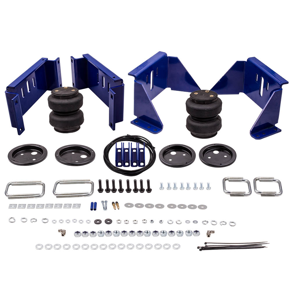 Air Spring Kit Rear For Chevy For Ford F-250 F350 For Dodge For GMC 5000 Lbs Up