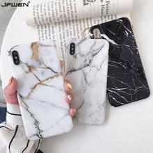 Роскошный мраморный силиконовый чехол для телефона для iphone 11 Pro XS Max X XR 7 8 6 6S Plus Чехол Мягкий ТПУ задняя крышка для iphone 8 7 Plus Funda