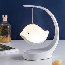 Милый светодиодный светильник в форме птицы с цветными лампами