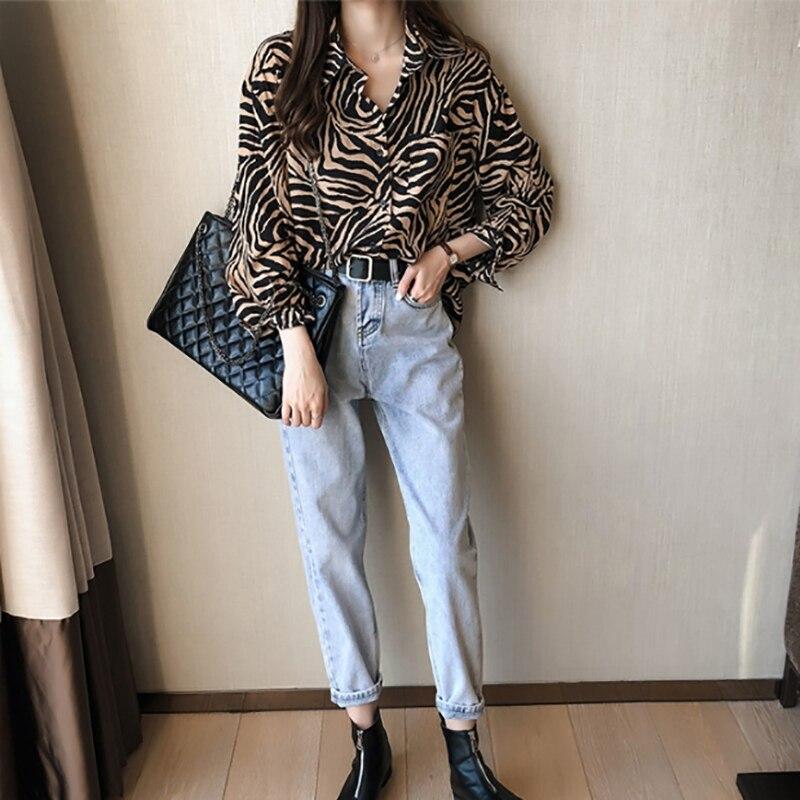 Купить женская шифоновая рубашка модная универсальная повседневная