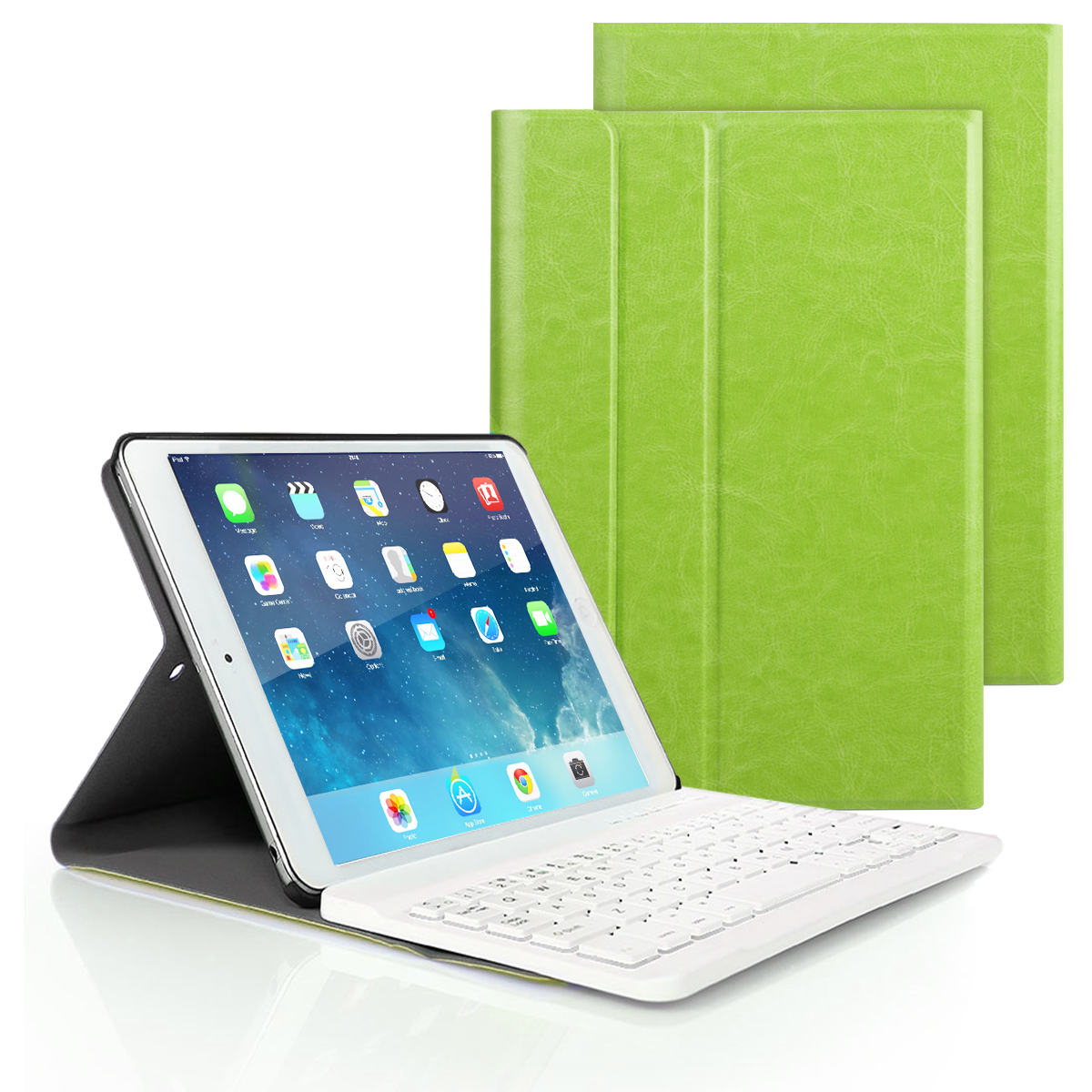 Bluetooth Keyboard PU Leather Case For iPad 2017 2018 / iPad Air 1 2/Pro 9.7 Magnetic Cover Tablet Ipad 5th 6th