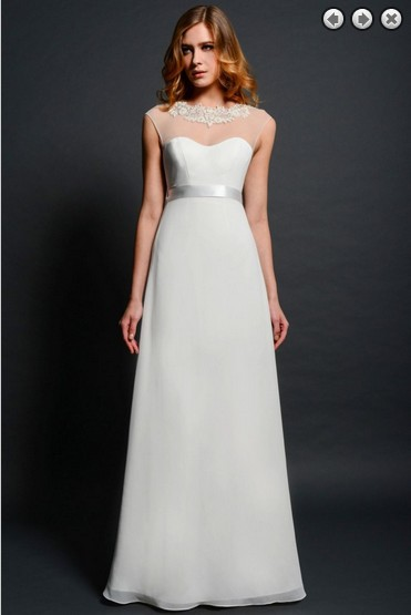 New Fashion 2018 Brides Maid Vestidos Formal Gown Plus Size Simple White Long Backless Bridal Belt Mother Of The Bride Dresses