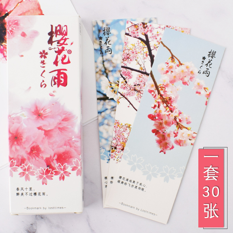 Boxed 30 Sheets Into Hipster Simple Literature And Art Paper Bookmark Creative Back Blank DIY Card Students Gift